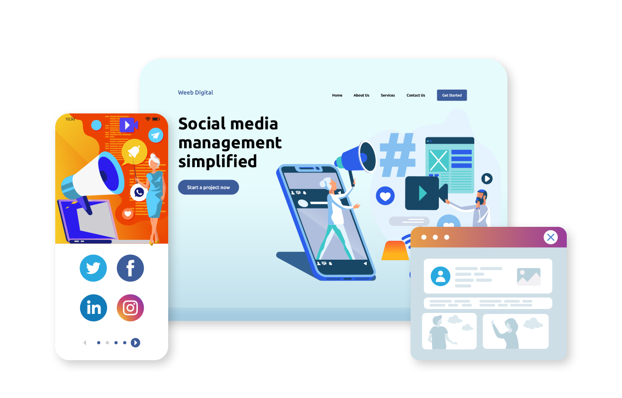 Social Media Management services in London